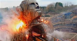 Megabuild: Roller Coaster Of Fire