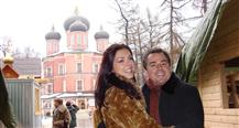Chris & Adrianne Do Russia